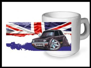Koolart CLASSIC BRITISH Design For Classic Mini Clubman 1275GT - Ceramic Tea Or Coffee Mug